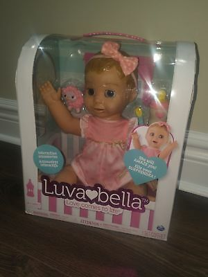 Luvabella-Blonde-Hair-Responsive-Baby-Doll- BRAND NEW!!! - FAST SHIPPING!!!
