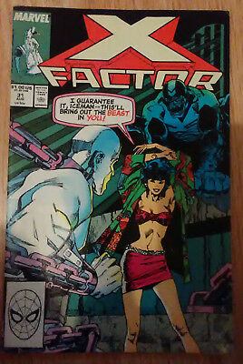 X-Factor Vol 1 #31 (1988) Original X-Men DeFalco Simonson VF+ Combined P&P