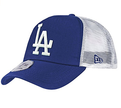 LA Dodgers New Era MLB Clean Trucker 9FORTY Cap Blue