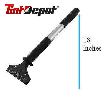 """Fusion Stretch Squeegee Handle 5"""" For Window Film Installation Commercial & Home"""