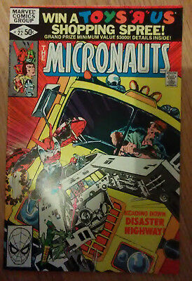 Micronauts Vol 1 #22 (1980) Shooter Golden Mantlo Broderick VF+ Combined P&P