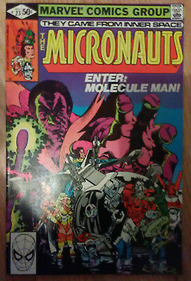 Micronauts Vol 1 #23 (1980) Shooter Golden Mantlo Broderick VF+ Combined P&P