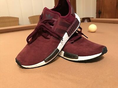 d3ef60eb78efe Womens Nmd R1 Burgundy Size 8.5 (Very Rare)  Collectors Piece  Lightly worn