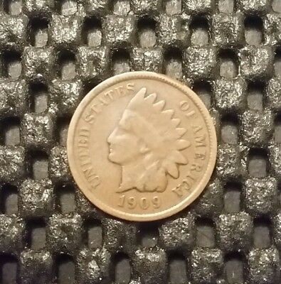 1909-P Indian Head Cent!  Free Shipping!