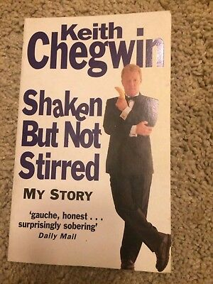 Keith Chegwin Shaken But Not Stirred Autobiography (paperback 1994)