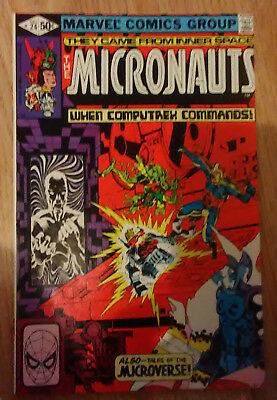 Micronauts Vol 1 #24 (1980) Shooter Golden Mantlo Broderick VF+ Combined P&P
