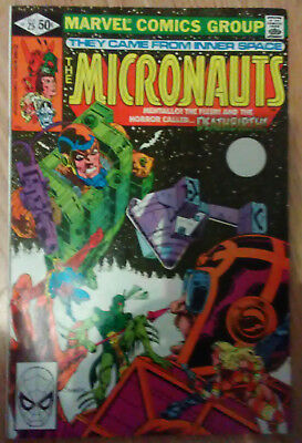 Micronauts Vol 1 #25 (1981) Shooter Mantlo Broderick VF+ Combined Postage