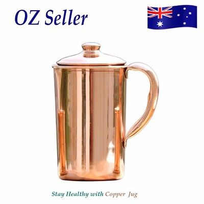Pure Copper Water Jug With Ayurvedic Health Benefits 1350 Ml