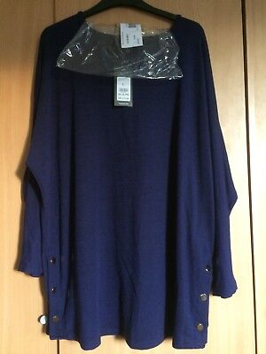 Maternity Dress/ Top Brand New With Tags From New Look Size 16 Navy