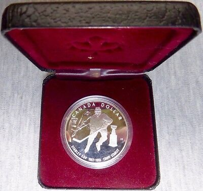 Canada - 1993 - $1 - 100th Anniversary of the Stanley Cup - Silver 925