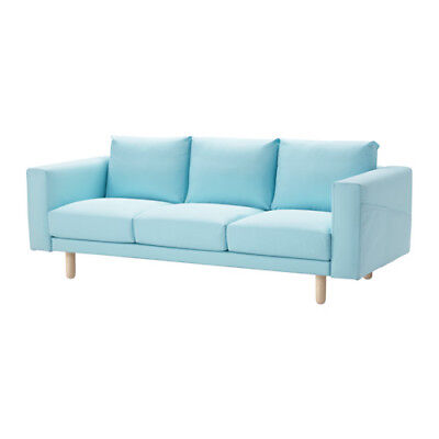 Fantastic Ikea Norsborg Sofa Cover Slipcover Edum Light Blue Just Machost Co Dining Chair Design Ideas Machostcouk