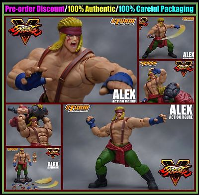 NEW Storm Collectibles Toys Street Fighter V Alex 1/12 Deluxe Action Figure