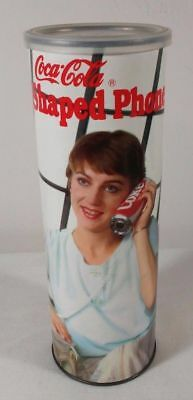 Vintage 1985 Coca Cola Coke Can Shaped Telephone Phone ~ Model 5010 ~ NIP