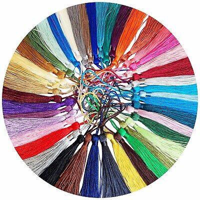 30pcsColorful Fringe Tassel Sewing Finishes Decor Hanging Craft DIY Trim Pendant