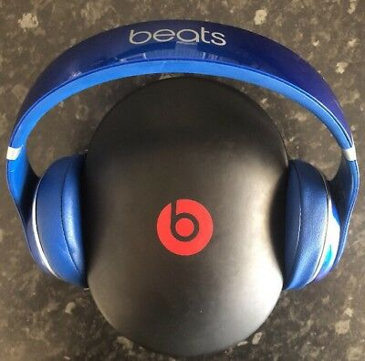 Beats by Dr. Dre Studio 2.0 Over Ear Noise Cancelling Wired Headphones - Blue