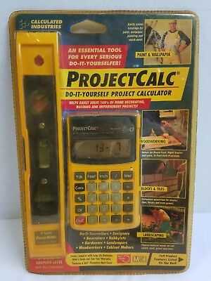 Calculated Industries ProjectCalc Do It Yourself Calculator - 8515LVL-C-A