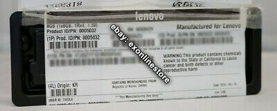 00D5032 - Lenovo Factory Sealed 8GB PC3-14900 CL13 ECC DDR3 1866MHz LP RDIMM IBM