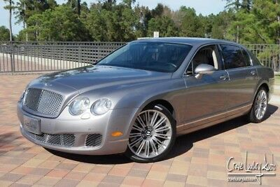 2009 Bentley Continental Flying Spur Flying Spur Speed Sedan 4-Door Bentley Flying Spur Speed loaded leather premium Crave Luxury Auto 281-651-2101