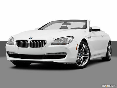 2013 BMW 6-Series 650i Convertible RWD Automatic