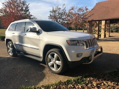 2013 Jeep Grand Cherokee Overland summit edition Jeep Grand Cherokee overland summit edition