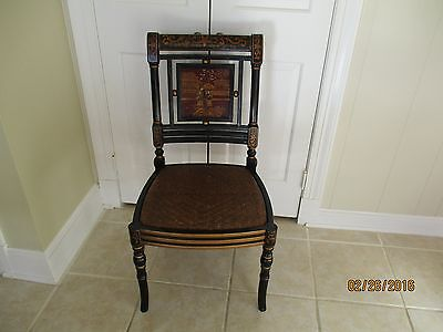 Antique/vintage Chinoiserie Side Chair -- possibly Baker Deco or British Regency