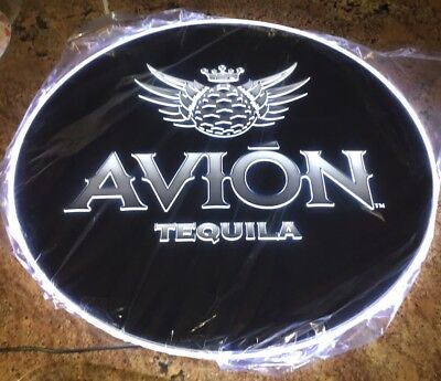 "NIB AVION TEQUILA LED NEON LIGHT SIGN 23"" Long Authentic"
