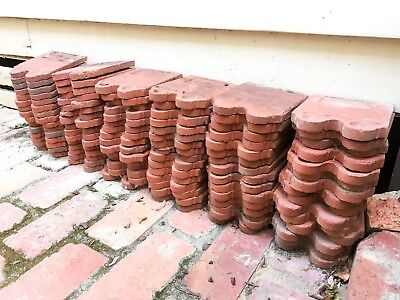 Antique Terracotta Garden Edging Tiles