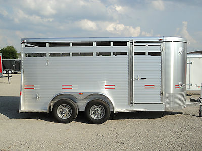 New 16' All Aluminum Stock / Horse Trailer *year End Sale Going @ Dr Trailer