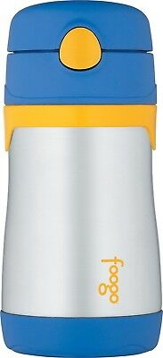 THERMOS FOOGO Vacuum Insulated Stainless Steel 10 Ounce Cup Sippy New