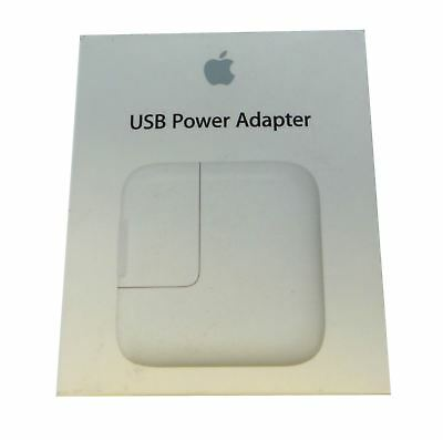Apple 12W USB Power Adapter Wall Charger MD836LL/A Genuine OEM A1401
