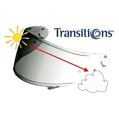 Shoei CWR-1 Transitions Photochromic Self-Tinting Visor for NXR From Japan