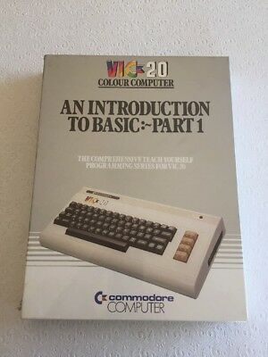 Introduction to BASIC for Commodore VIC20