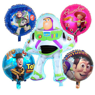 "18"" Toy Story Foil Balloon Kids Birthday Decorations Party Balloon."