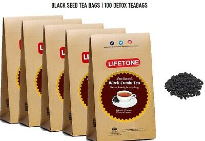 Black seed /Black cumin tea,a remedy for everything,100 Teabags