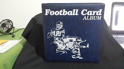 4 X Nfl Sports Card 3 Ring Binders,  Brand New Condition.