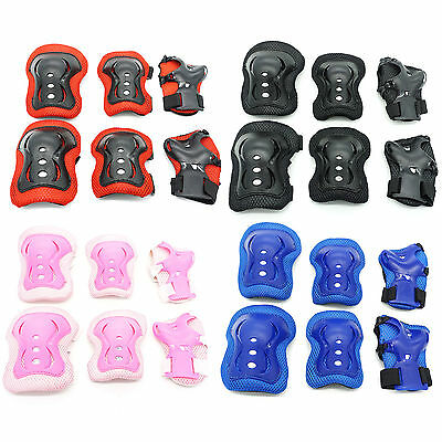 Medium Skateboard Roller Skating Bike Elbow Pads Knee Cap Protective Gear Kids c