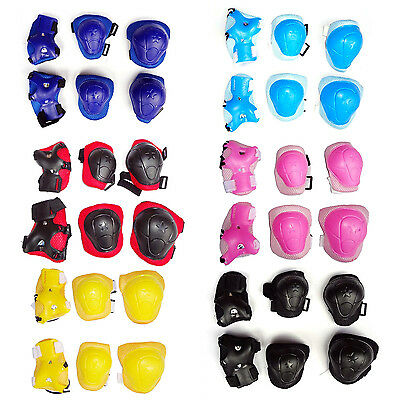 Small Skateboard Roller Skating Bike Elbow Pads Knee Cap Protective Gear Kids c