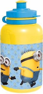 Pack of 9 x Minions Sports Style Water Bottles