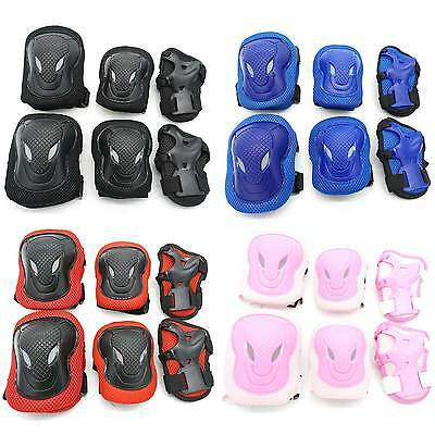 6pcs Maximum 80Kg Skateboard Protective Gear Skate Cycling Elbow Pads Knee Adult