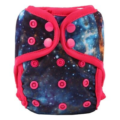 2018 NEWBORN Cloth Diaper Cover Baby Nappy Reusable 8-10lbs Solar System Girls