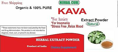 Kaava Extract Powder, 30% Kaavalactones, For Anxiety, Insomnia, No Fillers, Pure