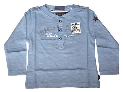 Ollie & Scott Boys Casual Blue Nugget Long Sleeve Tee EU 92 UK 2yr NEW