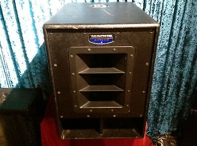 "Mackie SWA1501 Powered 15"" Subwoofer 500W  *Can Courier If Necessary*"