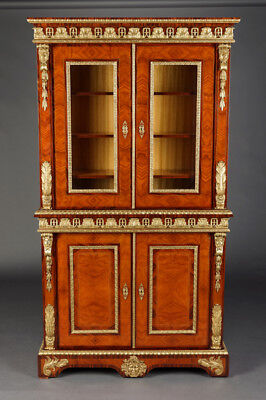 Fine French Library/Cabinet in the Style Louis Fourteen