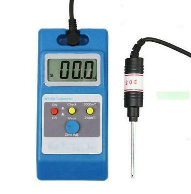 Surface Magnetic Field Tester WT10A Gaussmeter LCD Tesla Meter -New