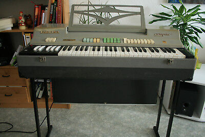 Farfisa Compact CC/21 Orgel Organ vintage. Made in Italy (+ Video der Funktion!)