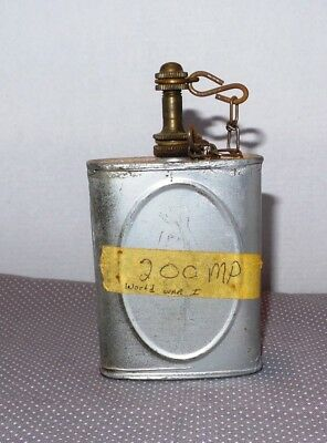 Vintage WWI  World War I Era Machine/Rifle Gun Oil Can