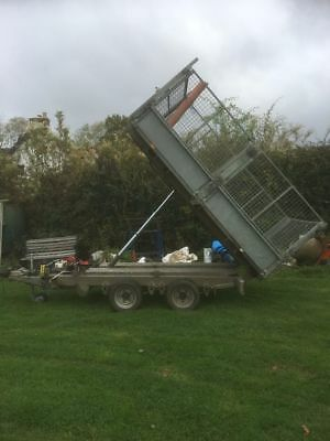 ifor williams tipper tralier