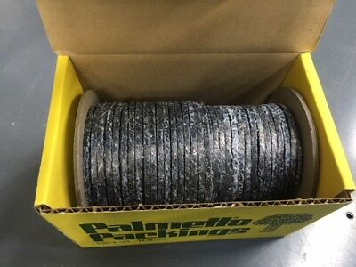 "Palmetto Packings 1/8"" Pinnacle Flexible Graphite Packing (62 ft/1 lb)"