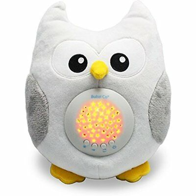 HORNED OWL LED STARS & MUSIC Cute Bird Plush Toy | Baby Kids Stuffed Animal Gift